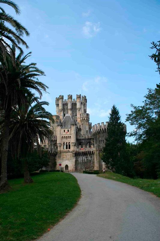 Entrada al Castillo de Butrón