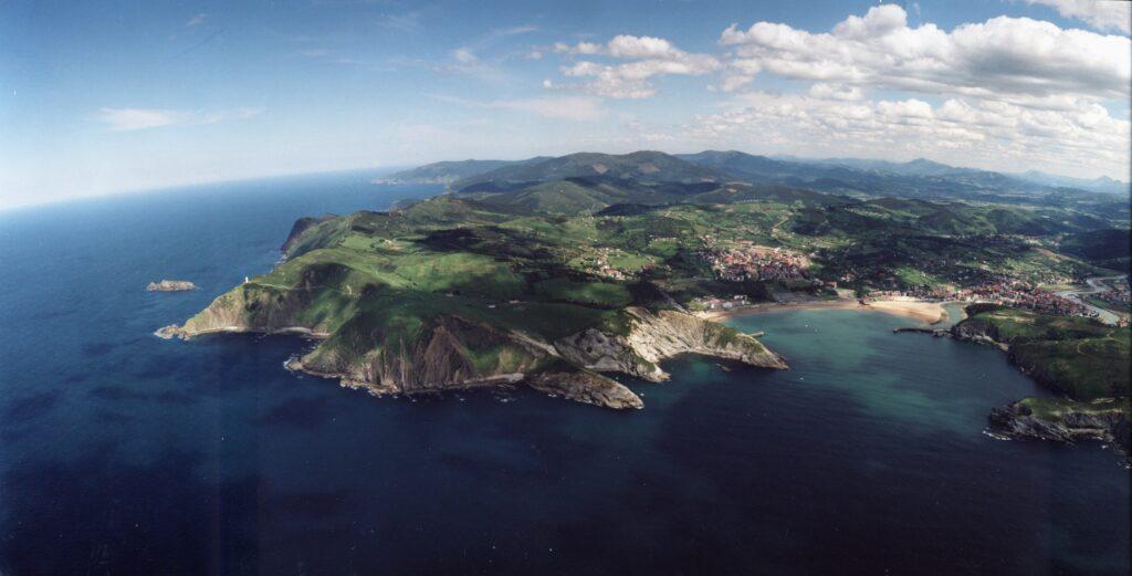 vision panoramica de la costa de uribe