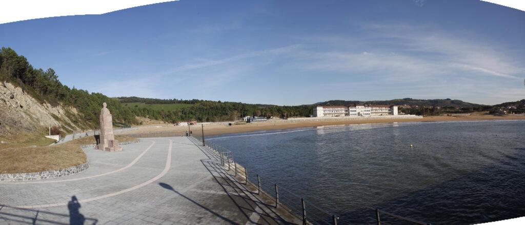 paseo y playa de gorliz